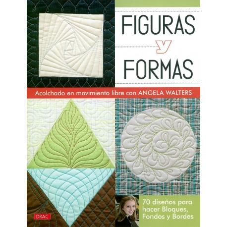 Figuras y formas. Acolchado en movimiento libre