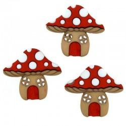 Mushroom houses