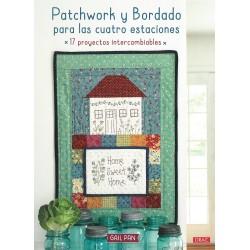 Patchwork y bordado para las cuatro estaciones