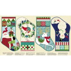Panel Tela Patch 10168 - Botas de Navidad