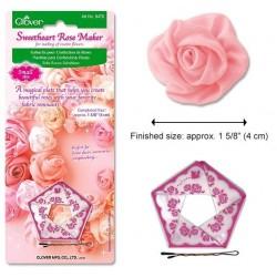 Plantilla para rosas pequeñas Clover