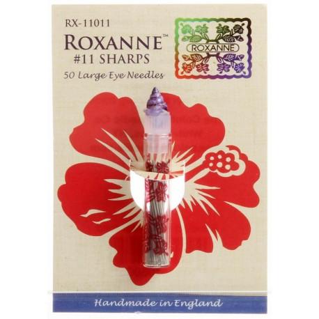 Agujas aplicación Roxanne
