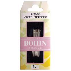 Agujas puntada escondida Bohin