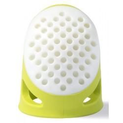 Dedal silicona Prym L verde claro
