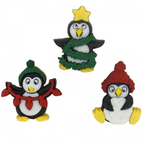 Holiday penguins