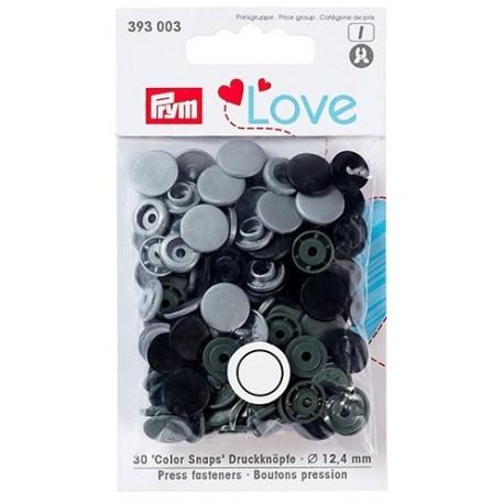 Botones Snaps Prym 393 003