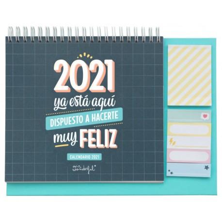CALENDARIO DE SOBREMESA - 2021 YA ESTÁ AQUÍ