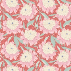 Tela Patch 100307 Bowl Peony Coral
