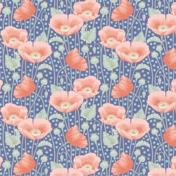 Tela Patch 100319 Poppies Blue